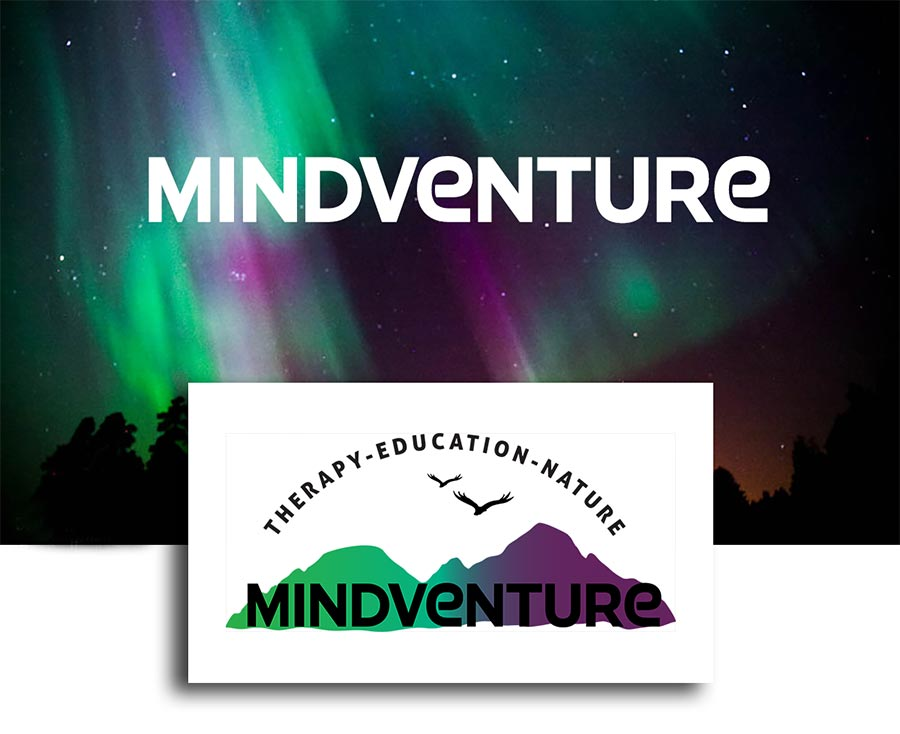 Branding for Mindventure by Heartwaves Design