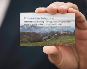 Business Cards for Paradiso Integral by Heartwaves Design