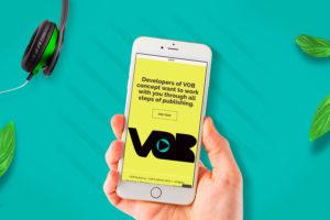 WEB design for VOB e-book by Heartwaves Design
